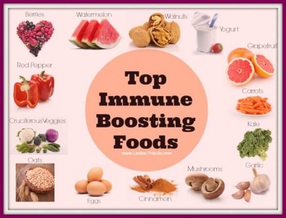 Τροφές και ανοσοποιητικό