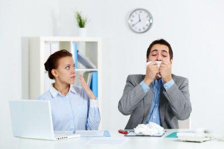 Αλλεργίες στην εργασία