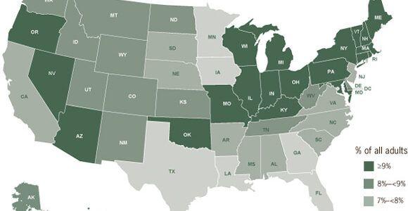 Η εντυπωσιακή νοσηρότητα του άσθματος- παιδιά και ενήλικες- σε αριθμούς στις ΗΠΑ