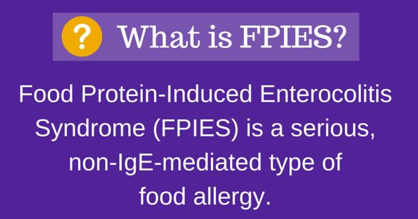 Τι είναι το σύνδρομο FPIES;