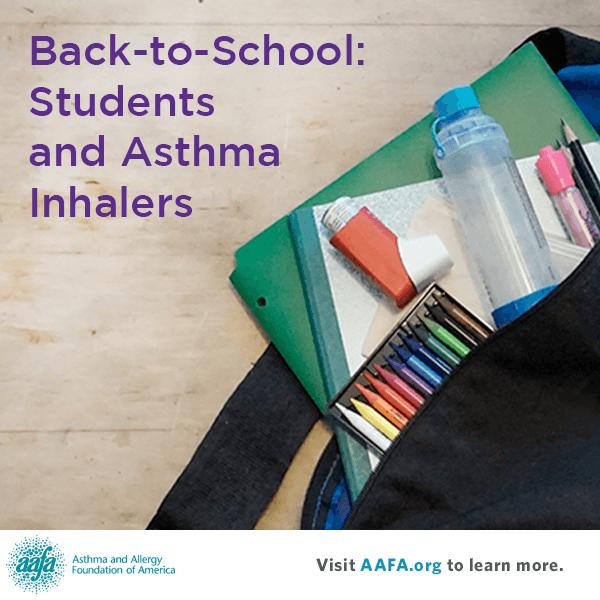 Επιστροφή στο σχολείο και έξαρση άσθματος