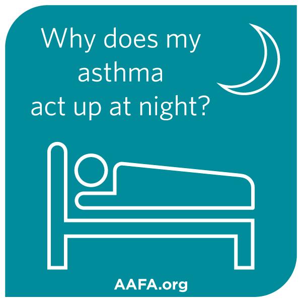 Γιατί το άσθμα χειροτερεύει την νύκτα;